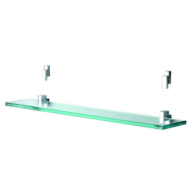 Damixa Salle de bain ensemble supports miroir + tablette en verre ...