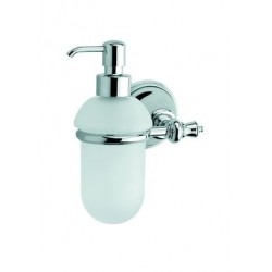 Damixa Salle de bain distributeur de savon chromé
