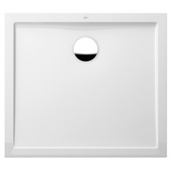 villeroy & boch Quaryl Douchebak in Quaryl  Quaryl Futurion Flat 100 x 80 x 2,5  cm