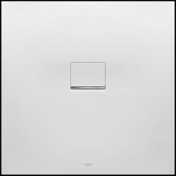 Villeroy & Boch Quaryl Squaro infinty van  100 x 100 x 1.5   Grey douchebak