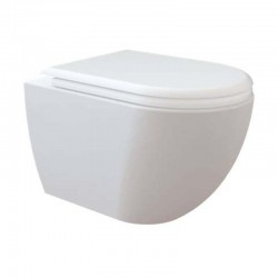 Banio RIMOFF ophang wc pot wit