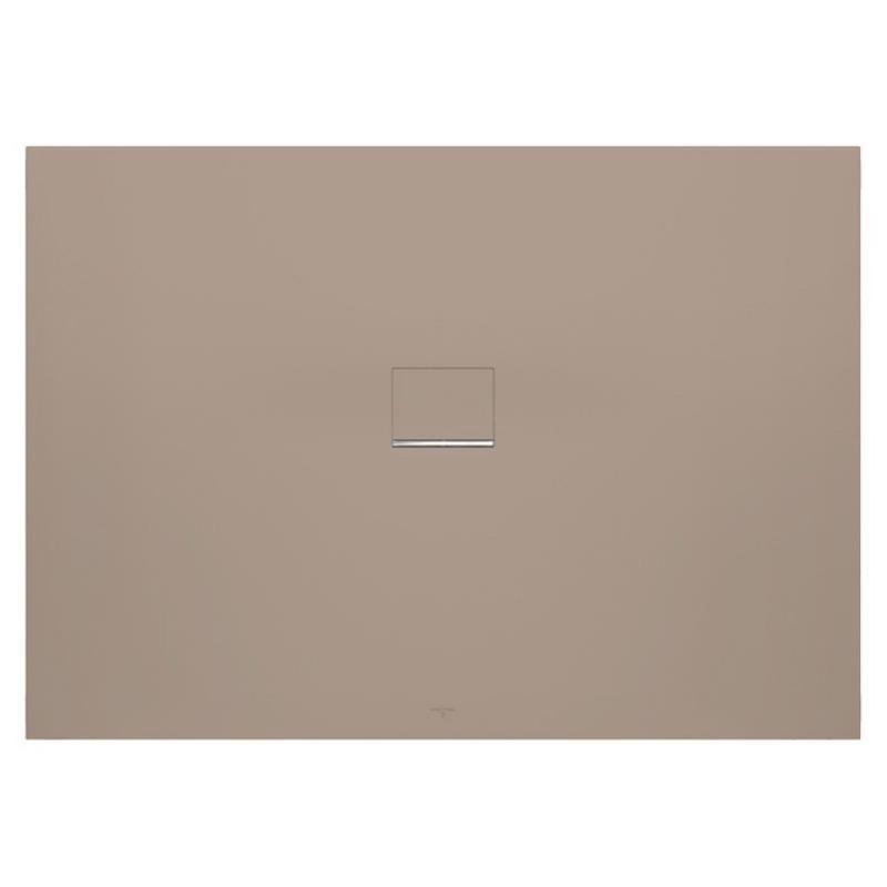 villeroy boch quaryl squaro infinty de 160 x 90 x 4 couleur brown receveur de douche. Black Bedroom Furniture Sets. Home Design Ideas