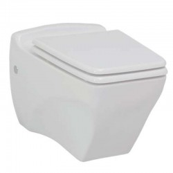 Banio design ophang wc pot wit