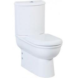 Banio Selin wit staande WC kompleet,   muur/onder-uitgang