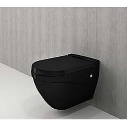 Banio-Bocchi  design cuvette suspendue  mat  noir