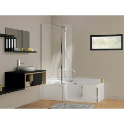 BAD DOUCHE COMBINATIE duo kinedo 160x75 cm