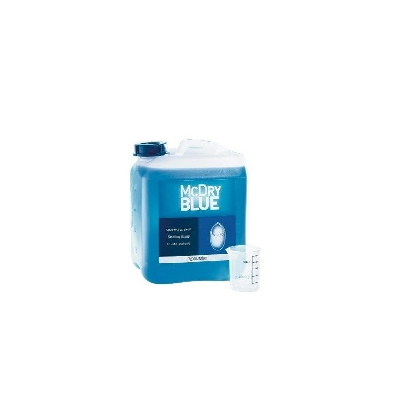 McDry Blue liquide occlusif 5000 ml DURAVIT