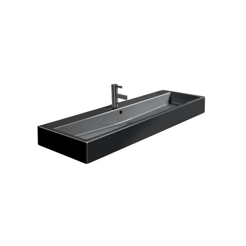 duravit vero lavabo 120 vero noir wondergliss 04541208001. Black Bedroom Furniture Sets. Home Design Ideas