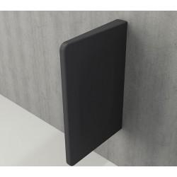Banio Urinoir scheidingswand - Mat antraciet