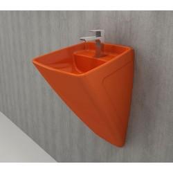 Banio Bocchi Frenze hang monobloc wastafel oranje