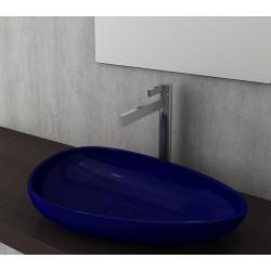 Banio Bocchi Etna ovaal wastafel 595x370 saphire blauw