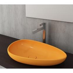 Banio Bocchi Etna ovaal wastafel 595x370 mandarijn