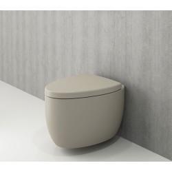 Banio Bocchi Etna ophang wc mat kashmir, met sproeier