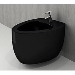 Banio Bocchi Etna ophang bidet zwart