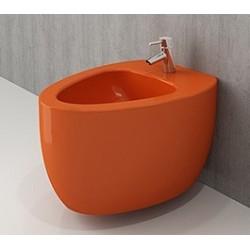 Banio Bocchi Etna ophang bidet oranje