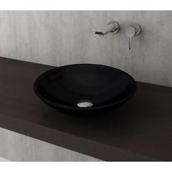 Banio Bocchi Lucca waskom 40cm zwart