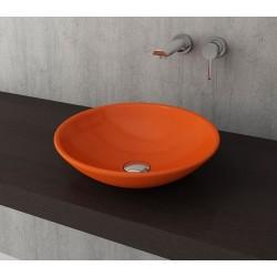 Banio Bocchi Lucca waskom 40cm oranje