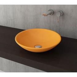 Banio Bocchi Lucca waskom 40cm mandarijn