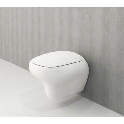 Banio Bocchi Fenice ophang wc wit, met sproeier