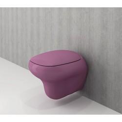 Banio Bocchi Fenice ophang wc violet, met sproeier