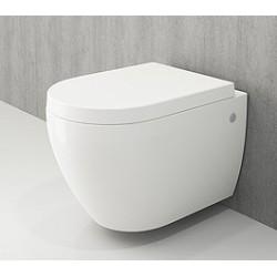 Banio Bocchi Jet Flush ophang wc wit, met sproeier