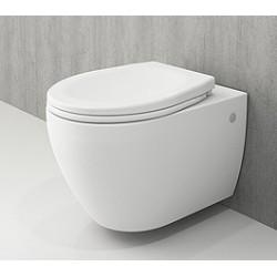 Banio Bocchi Jet Flush ophang wc mat wit, met sproeier