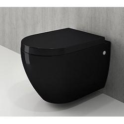 Banio Bocchi Jet Flush ophang wc zwart, met sproeier