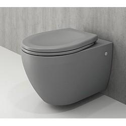 Banio Bocchi Jet Flush ophang wc mat grijs, met sproeier