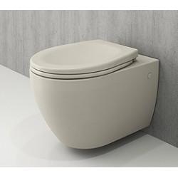 Banio Bocchi Jet Flush ophang wc mat jasmine, met sproeier