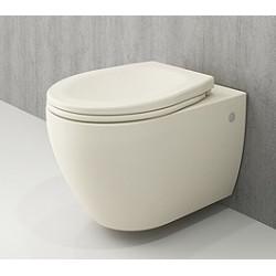 Banio Bocchi Jet Flush ophang wc mat vanille, met sproeier
