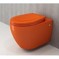 Banio Bocchi Jet Flush ophang wc oranje, met sproeier