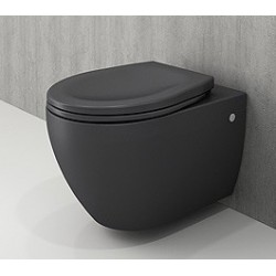 Banio Bocchi Jet Flush ophang wc mat antraciet, met sproeier