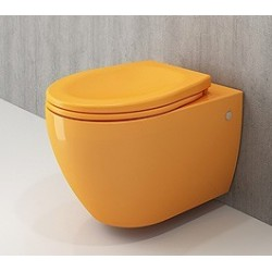 Banio Bocchi Jet Flush ophang wc mandarijn, met sproeier