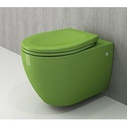Banio Bocchi Jet Flush ophang wc groen, met sproeier