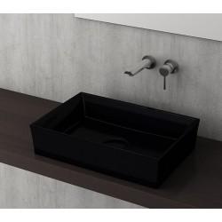 Banio Bocchi Cesena wastafel 55x38cm zwart