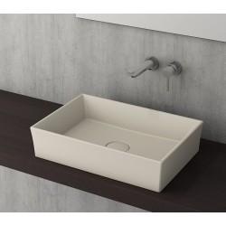 Banio Bocchi Cesena wastafel 55x38cm mat jasmine