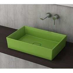 Banio Bocchi Cesena wastafel 55x38cm groen