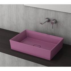 Banio Bocchi Cesena wastafel 55x38cm violet