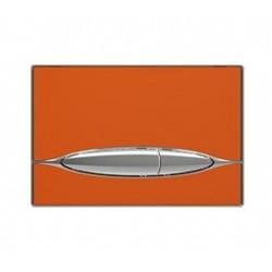 Banio Bocchi duwplaat glas, oranje