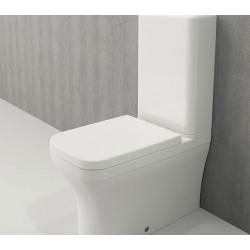 Banio Bocchi Scala Arch staande wc onderpot met sproeier wit