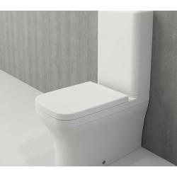 Banio Bocchi Scala Arch staande wc onderpot met sproeier mat wit