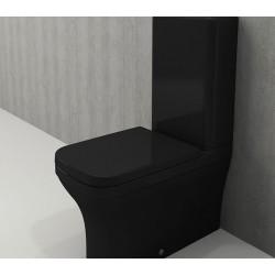 Banio Bocchi Scala Arch staande wc onderpot met sproeier zwart