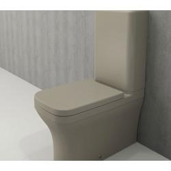 Banio Bocchi Scala Arch staande wc onderpot met sproeier mat kashmir