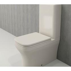 Banio Bocchi Scala Arch staande wc onderpot met sproeier biscuit