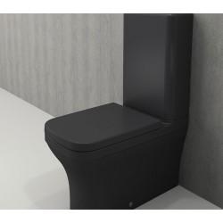 Banio Bocchi Scala Arch staande wc onderpot met sproeier mat antraciet