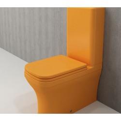 Banio Bocchi Scala Arch staande wc onderpot met sproeier mandarijn
