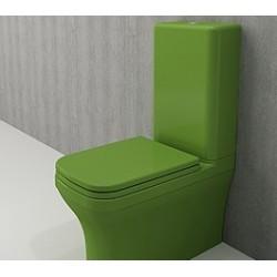 Banio Bocchi Scala Arch staande wc onderpot met sproeier groen