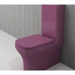 Banio Bocchi Scala Arch staande wc onderpot met sproeier violet