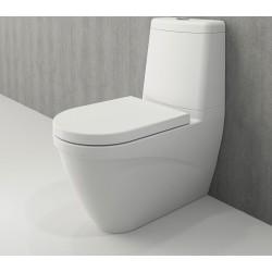 Banio Bocchi Taormina Pro staande wc onderpot met sproeier mat wit