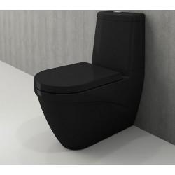 Banio Bocchi Taormina Pro staande wc onderpot met sproeier zwart